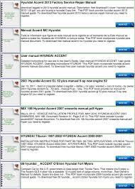 haynes repair manual hyundai accent pdf to hyundai accent 2013 factory service repair manual you need to accent mc hyundai