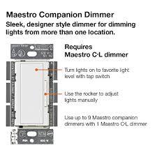 lutron maestro maw r wiring diagram lutron image lutron ma r wh maestro companion 120v 8 3a designer digital dimmer on lutron maestro maw lutron maestro ma 600 wiring diagram