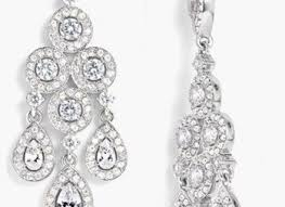 women 039 s nadri framed chandelier earrings