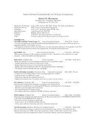 Fascinating Java Developer Resume Format For Resume For One Year