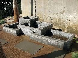 garden box designs. herb garden planter box design tiered designs shiny grow out of concrete