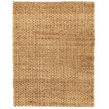 anji mountain cira brown 9 ft x 12 ft jute area rug