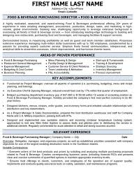 Purchasing Manager Resume 5 Download Purchase Manager Resume Samples