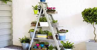 Стойка для <b>цветов</b> в виде лестницы: пошаговый мастер-класс с ...