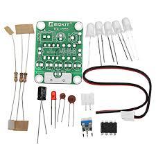 Diy Light Kit 3pcs Diy Dc 5v Tdl 555 Touch Delay Led Light Kit Insulation Materials Elements Diy Led Flash Kit