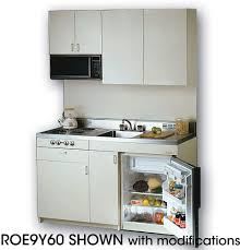 Compact Kitchen Furniture Acme Roe9y60 Compact Kitchen With Stainless Steel Countertop 4