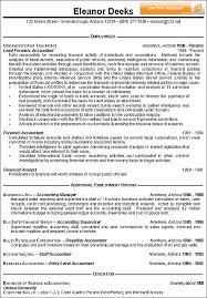 Gallery Of Accountant Resume Example Accounting Resume Examples