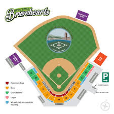 Fitton Field Seating Chart Worcester Bravehearts Season Tickets