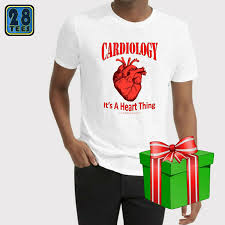Cardiology T Shirt Designs Christmas In July Cardiology Cardiologist Medical Premed