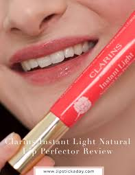 Instant Light Brush On Perfector Clarins Review Clarins Instant Light Natural Lip Perfector Review