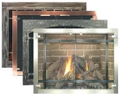 gas fireplace glass doors glass door for fireplace for glass fireplace doors by fireplace inc best gas fireplace glass doors