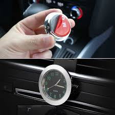 <b>Luminous Auto Gauge</b> Clock Mini Car Air Vent Quartz Clock With ...
