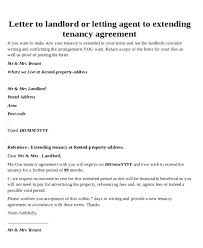 Lease Renewal Letter Sample To Tenant – Echotrailers