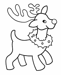 18 Free Christmas Coloring Pages For Preschoolers, Coloring Now ...