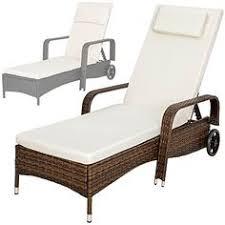 tectake polyrattan sonnenliege gartenliege rattan garten liege gartenmöbel rattanmöbel diverse farben braun rattan garden furniture