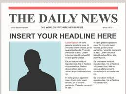 School Newspaper Layout Template Newspaper Article Templates Could I Do On My Website Highlight