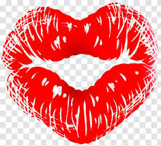 kiss lip heart love clip art cartoon