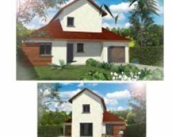 terrain de 600 m² maison neuve à 295 000 à laval 38190