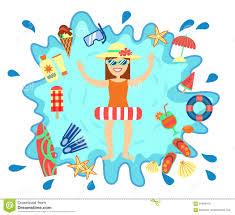 summer splash clipart. Wonderful Clipart Download Beach Summer Splash Fun Concept Stock Vector  Illustration Of  Illustration Cream 91644419 For Clipart L