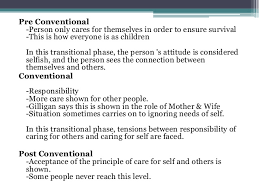 Carol Gilligan Moral Development Theory Chart Carol Gilligan S Moral Development Theory Psychology Topic