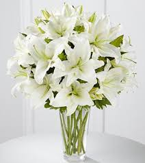 the ftd spirited grace lily bouquet vase inclu in highlands ranch co