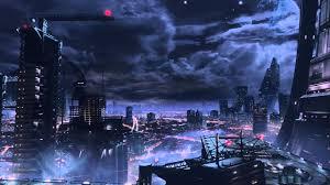 halo mcc skyline animated wallpaper