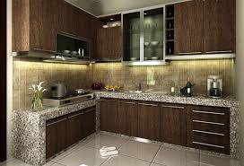 Modern Kitchen For Small Kitchens Lovely Small Modern House Minecraft With Small Kit 1024x768