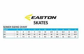 Easton Hockey Size Chart Easton Mako Ice Hockey Skates Size Senior 257 47 Picclick