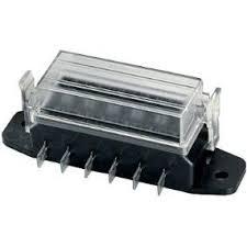 amazon com hella h84960091 6 way lateral single fuse box automotive fuse box 6 lateral hella single fuses boxes