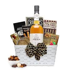 oban 14 year scotch whisky gift basket
