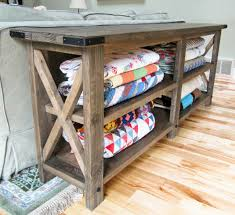 anna white furniture plans. ana white build a rustic x console free and easy diy project furniture anna plans