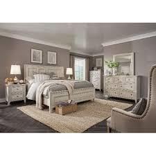Cal King Bedroom Sets Regarding White Casual Traditional 6 Piece Set  Raelynn RC Design 18