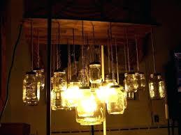 chandeliersball jar chandelier lighting hanging mason lamp light lights