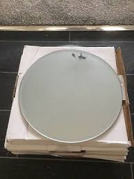 wedding table centerpiece round mirror plate glass plate bevelled edge