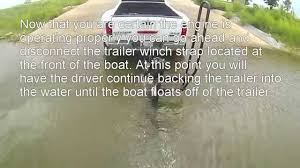 How to Unload and Load Your Pontoon Boat on the Boat Trailer ...
