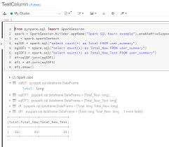 data frames column wise in apache spark