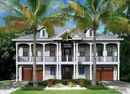 lake house plans sloping lot craftsman duplex luxury narrow sloped lakefront designs home style small lots hillside cabin ranch tiny design floor with