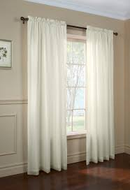 sheer curtain door panels