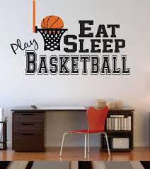 exclusive design basketball wall decor small home inspiration v sanctuary com stickers art hoop
