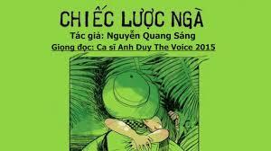 OPEN ROAD] Chiếc lược ngà (Nguyễn Quang Sáng)   Giọng đọc: Ca sỹ Anh Duy -  YouTube