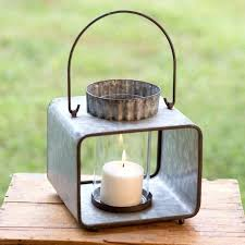 large candle lantern large teak and stainless steel lantern with rope handle