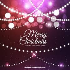 free christmas lights backgrounds. Simple Lights Purple Background With Christmas Lights And Bokeh Effect Free Vector To Christmas Lights Backgrounds I