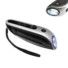 Rechargeable Torch Light Price Led Flashlights Hand Crank Solar Powered Flashlight Usb