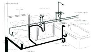 bathroom plumbing. Exellent Plumbing Basement Bathroom Plumbing Toilet Rough In On G