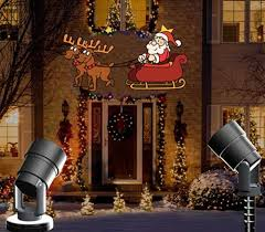 Outdoor Led Christmas Projection Lights Vnl Waterproof Animated Christmas Projector Lamps Led