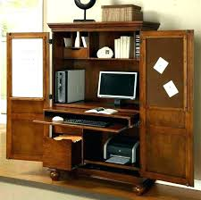 office armoire. Armoire Office Furniture Compact Desks 9 Desk Pottery Barn Crate And .