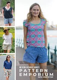 Ladies Endless <b>Summer</b> Tee PDF Sewing <b>Pattern</b>