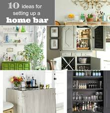 great home bar ideas. 10 ideas for setting up a home bar great