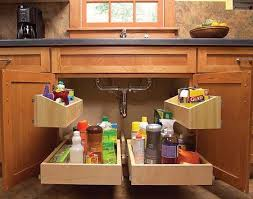 Organize the space under your kitchen sink! http://www.dongardner.