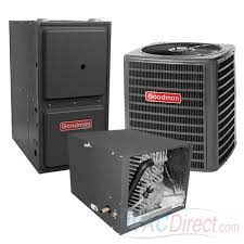 goodman gas furnace. goodman 2.5 ton 16 seer 96% afue gas furnace and air conditioner system - horizontal 3